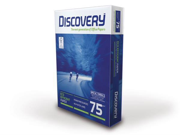 Discovery A4 75grs. Wit